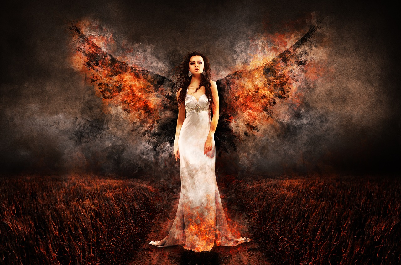 Angel With Fire